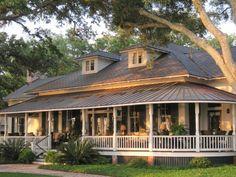 wrap around porch house plans | porches, Wrap around porches, Wraparound porches. Country porches ...