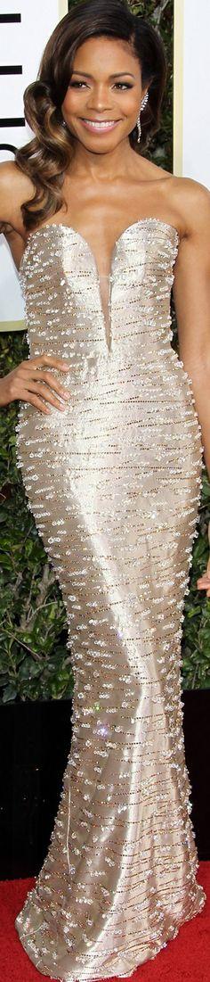 Naomie Harris 2017 Golden Globes