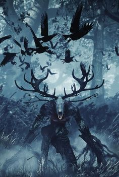 ╬● Dark Beauty ●╬ uploaded by Dewrey Wolff on We Heart It – The Witcher Series Dark Fantasy Art, Fantasy Artwork, Fantasy World, Witcher Art, The Witcher, Dark Creatures, Mythical Creatures, Fantasy Monster, Monster Art