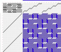 draft image: 28030, 2500 Armature - Intreccio Per Tessuti Di Lana, Cotone, Rayon, Seta - Eugenio Poma, 16S, 32T