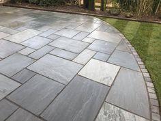 Garden Slabs, Garden Tiles, Patio Tiles, Garden Paving, Back Gardens, Outdoor Gardens, Outdoor Paving, Outdoor Pergola, Patio Edging