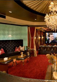 #Luxury home theater | home cinema