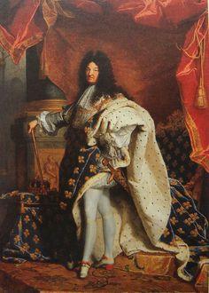 [HISTOIRE] Louis XIV, Roi de France (1638-1715) Hyacinthe Rigaud (1701)