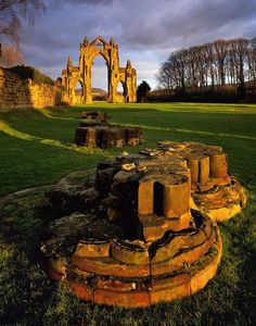 Ancient Arch, North Yorkshire, England