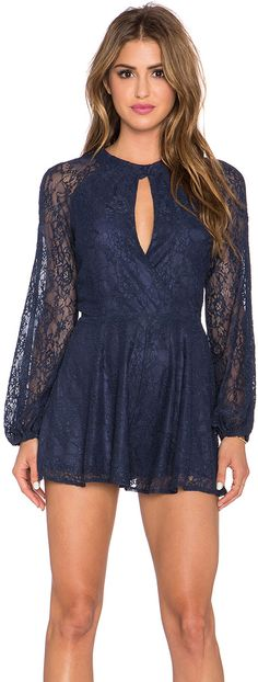 Line & Dot Bardot Romper @roressclothes closet ideas #women fashion outfit #clothing style apparel