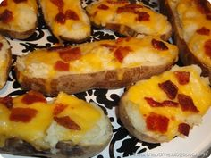 Twice baked potatoes...these are SO good!