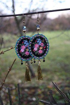 Wind Chimes, Dream Catcher, Crochet Earrings, Retro, Outdoor Decor, Handmade, Jewelry, Home Decor, Souvenir