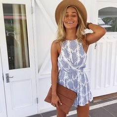 Nothing is more beautiful than a bright smile! Ocean Spray Playsuit, $59! Shop Playsuit! www.muraboutique.com.au #muraboutique #muragram