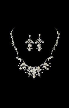 Elegance By Carbonneau Necklace & Earring Set - Style NE7204