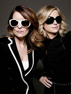 Tina Fey and Amy Poehler - love themYou can find Amy poehler and more on our website.Tina Fey and Amy Poehler - love them Amy Poehler, Tina Fey, Badass Women, Saturday Night Live, Woman Crush, Swagg, Girl Crushes, Role Models, Female Models