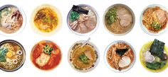 A Guide to the Regional Ramen of Japan | Lucky Peach And there's a summer Ramen festival!!! Totally on my bucket list now.