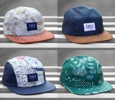 New 5-panel caps - The Worlds Original Face (Fall/Winter 2013)
