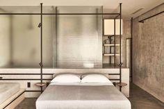 Dexamenes Seaside Hotel, Kourouta – Updated 2021 Prices Design Hotel, Home Design, Design Design, Interior Modern, Home Interior, Interior Architecture, Commercial Architecture, Casa Hotel, Open Wardrobe