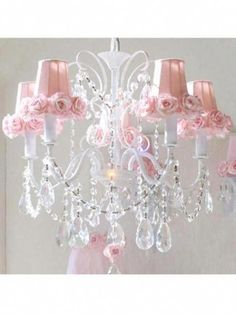 American Color Crystal Ceiling Lamp Girl Bedroom Princess Bedroom Childrens Room Lamp Creative Personality Candy Crystal Lamp Ceiling Lights