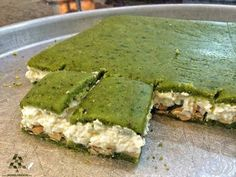 """An NGNO reader sent me a request to try """"Al Daoukieh"""" at Daouk in Tarik Jdideh, next to the Cola Roundabout. This Lebanese pastry shop has… Lebanese Desserts, Lebanese Cuisine, Lebanese Recipes, Unique Desserts, Arabic Sweets, World Recipes, Food Porn, Food And Drink, Tasty"""