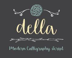 Della by OnTheSpotStudio on @creativemarket