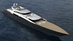 Superyacht concept 80m