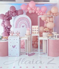 1st Birthday Girl Decorations, Wedding Balloon Decorations, First Birthday Party Themes, Wedding Balloons, Birthday Balloons, Elsa Birthday Party, Pool Party Themes, Carousel Birthday, Baby Party