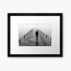 """'Lonely towards the unknown' Framed Print by Hercules Milas """"Seul vers l'inconnu"""" par Hercules Milas Beautiful Nature Spring, Romantic Nature, Landscape Art, Landscape Paintings, Desktop Background Nature, Summer Nature Photography, Forest Painting, Mountain Tattoo, Hercules"""