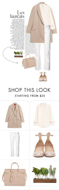 """Sin título #1646"" by solespejismo on Polyvore featuring moda, HUGO, Nina Ricci, Nili Lotan, Valentino y Yves Saint Laurent"