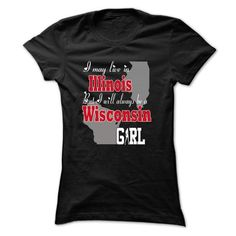 For Wisconsin Girl in Illinois #hoodie #fashion