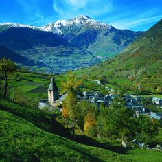 - Pyrenees, Escunhau So, paradise exists and it's in Spain.So, paradise exists and it's in Spain. Places Around The World, Oh The Places You'll Go, Places To Travel, Around The Worlds, Dalai Lama, Wanderlust, Beautiful Places To Visit, Beautiful World, Gaudi
