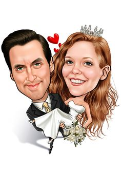 wedding caricatures - Google Search
