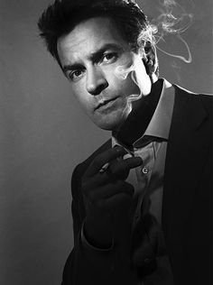 Charlie Sheen....If he could get his act together he would be WINNINGly handsome!
