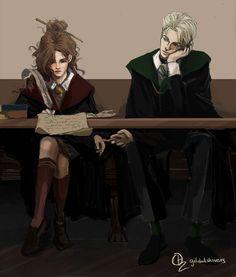 Draco Harry Potter, Harry Potter Anime, Draco Et Hermione, Immer Harry Potter, Blaise Harry Potter, Arte Do Harry Potter, Harry Potter Artwork, Harry Potter Tumblr, Harry Potter Pictures