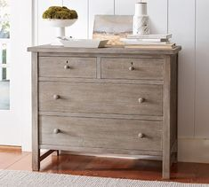 Style, simplicity and fine craftsmanship are the hallmarks of classic Shaker furniture. We're proud not only to honor but also to build on those qualities. The Farmhouse Extra Wide Dresser features six fully finished dovetail drawers with de… Shaker Furniture, New Furniture, Rustic Furniture, Timber Furniture, Painting Furniture, Antique Furniture, Outdoor Furniture, Farmhouse Canopy Beds, Farmhouse Living Room Furniture