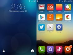 10 Android & iPhone Homescreens & Lockscreens | Part 29