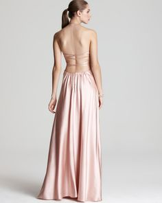 Mignon Gown - Beaded Open Back  PRICE: $408.00