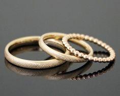 """Eheringe VINTAGE Set Kugelring Der beliebte Klassiker von MEIN LIEBLINGSRING - die Ringe """"Vintage"""" - in einer individuellen Variante, mit einem Kugelring, in dem Farbton deiner Wahl. In unserem..."""