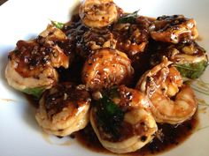 Spicy and Saucy Prawns