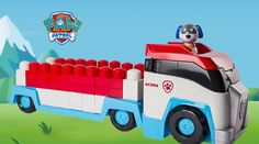 Spin Master's Paw Patrol Paw Patroller is for ages 1-5. Inspired by the hit Nickelodeon show, Paw Patrol, this Ionix Jr. set, for the younger builder and Paw Patrol fans See full review on ttpm.com