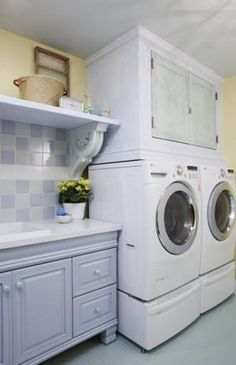 Sarah Richardson Design - Sarah 101 - Colorful Laundry Room {This is my absolute favorite of her designs}