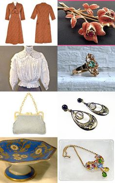 TeamLove Wednesday Vintage Hot Flash Treasury by Nancy on Etsy--Pinned with TreasuryPin.com