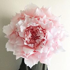 Items similar to Giant Crepe Paper Peony-Crepe Paper Wall Peony-Nursery Wall Flowers-Paper Flowers-Floral Nursery Decor-Boho Nursery-Huge Paper Flower on Etsy Tea Party Decorations, Valentine Decorations, Flower Decorations, Giant Paper Flowers, Felt Flowers, Colorful Flowers, Flower Colors, Crochet Flowers, Floral Nursery