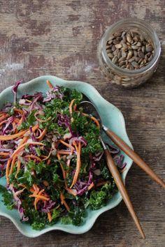 Bright winter salad