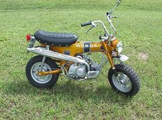 1970 Honda CT 70, unrestored