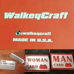 Need to show people you are a Real man or woman? Having trouble opening that beer?  Keeping that beard in check? Or know someone else with these problems? Help your self and or someone else out. Visit WalkeyCraft on etsy.com today. #walkey #walkeycraft #art #mancard #etsy #womancard #bottleopener #mancards #laserart #lasercut #girls #beer #beard #beardcomb #keychain #keychaincomb #madeinusa #military #wedding #groomsmen #gift #bridesmaid #realman #realwoman by walkeycraft