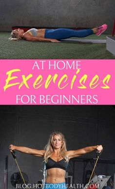 4 At Home Exercises for Beginners {Video Tutorial} – HBI Labs Inc At home exercises for beginners will help ease your body into a fitness regimen that you can stick with and use to get results without damaging your body. Best at Home Exercises Mental Training, Strength Training, Weight Loss Goals, Weight Lifting, Weight Training, Fun Workouts, At Home Workouts, Workout Ideas, Workout Plans
