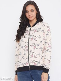 Sweatshirts Austin Wood Women's White Full Sleeves Printed Mandarin Collar Sweatshirt Fabric: Polyester Sleeve Length: Long Sleeves Pattern: Printed Multipack: 1 Sizes: S (Bust Size: 34 in, Length Size: 24 in, Waist Size: 34 in, Hip Size: 35 in, Shoulder Size: 13 in)  XL (Bust Size: 40 in, Length Size: 25 in, Waist Size: 40 in, Hip Size: 41 in, Shoulder Size: 14 in)  L (Bust Size: 38 in, Length Size: 25 in, Waist Size: 38 in, Hip Size: 39 in, Shoulder Size: 14 in)  M (Bust Size: 36 in, Length Size: 24 in, Waist Size: 36 in, Hip Size: 37 in, Shoulder Size: 13 in)  XXL (Bust Size: 42 in, Length Size: 26 in, Waist Size: 42 in, Hip Size: 43 in, Shoulder Size: 15 in)  XXXL (Bust Size: 44 in, Length Size: 26 in, Waist Size: 44 in, Hip Size: 45 in, Shoulder Size: 15 in)  Country of Origin: India Sizes Available: S, M, L, XL, XXL, XXXL   Catalog Rating: ★4.4 (448)  Catalog Name: Classy Fabulous Women Printed Sweatshirts CatalogID_2292469 C79-SC1028 Code: 826-12028008-5661