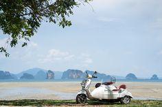 Island tour by Vespa, Six Senses Yao Noi, Thailand http://www.sixsenses.com/resorts/yao-noi/experiences