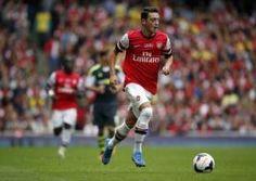 Mesut Ozil. Arsenal vs Stoke City 3-1!