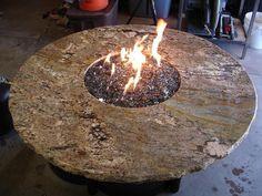 AZ Backyard Custom Firepit Tables