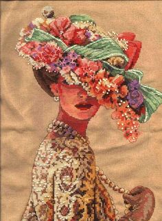 Be My Lady Cross Stitch Pattern   Etsy Xmas Cross Stitch, Counted Cross Stitch Patterns, Cross Stitching, Dimensions Cross Stitch, Creative Embroidery, Silk Ribbon Embroidery, Paper Flowers, Painting, Crossstitch