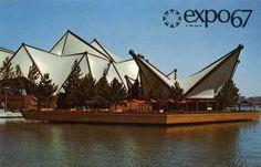 Pavillon de L'Ontario à l'Expo 67 à Montréal