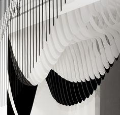 Aqua at Dover Street Market - Design - Zaha Hadid Architects