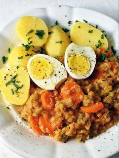 Břicháč Tom Curry, Fitness, Ethnic Recipes, Food, Curries, Essen, Meals, Yemek, Eten